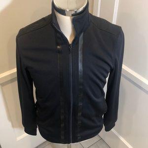 Calvin Klein Men's Black Zip Up Jacket NWOT